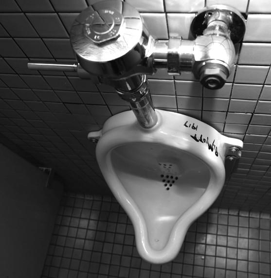 Tania Bruguera: a urinal at the Queens Museum of Art