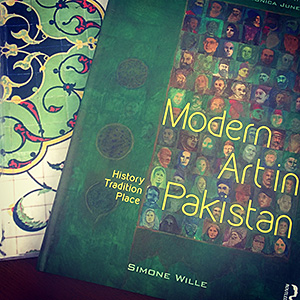 'Modern Art in Pakistan', Dr. Simone Wille's recent publication