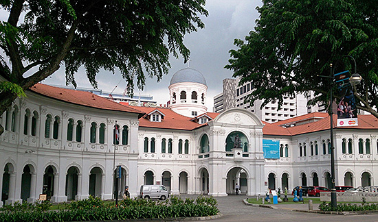 Fig. 1. Front view of the Singapore Art Museum, Image courtesy of ProjectManhattan, Creative Commons