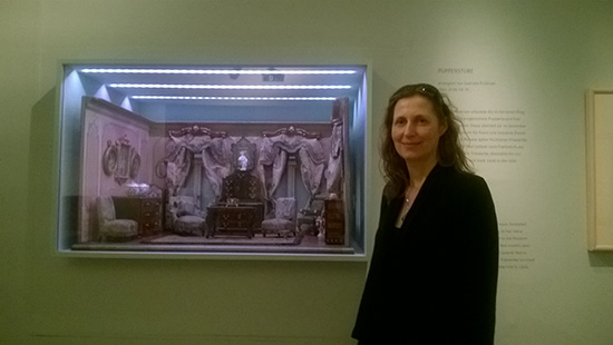 Senior Curator at the Jewish Museum Vienna, Andrea Winkelbauer