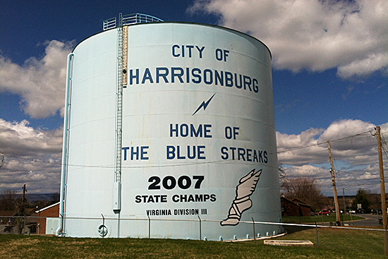 Harrisonburg, Virginia (USA), site of the Old Furnace Artist Residency