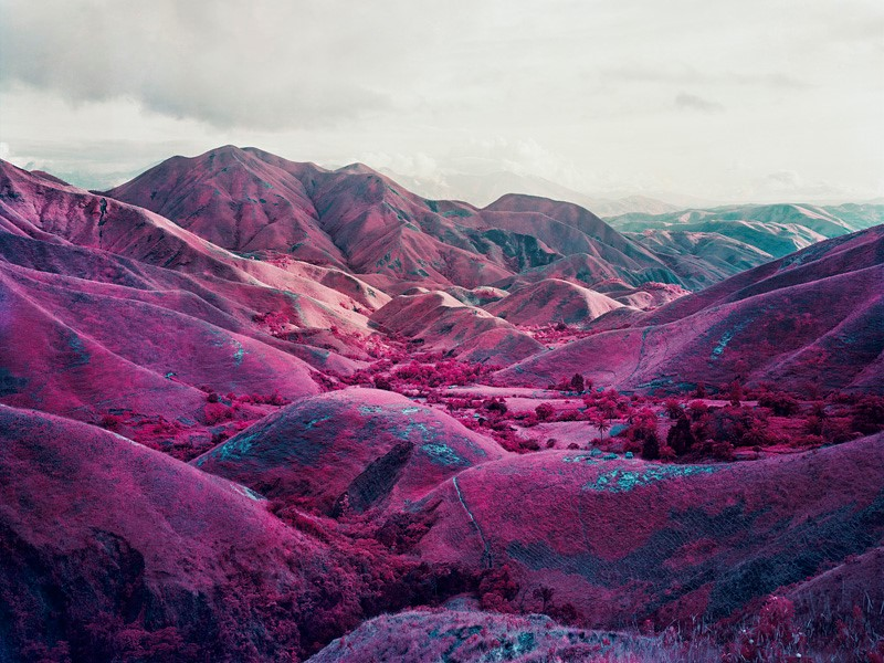 Richard Mosse, Nowhere to Run, digital C-print, 2010.
